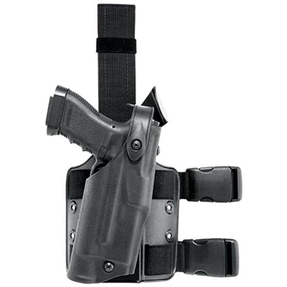 Safariland 6304 ALS Tactical Leg Holster, Black, Left Hand, Beretta 92F