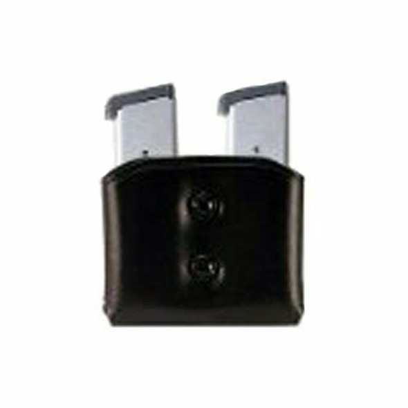 Galco DMC Double Mag Carrier for .45, 10mm Single Column Metal Magazines (Black, Ambi)