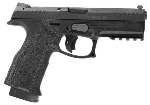 "STEYR L9-A2 MF 9MM 17RD BLK 4.5"" Pistol"