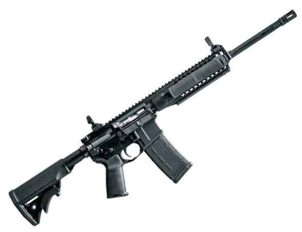 LWRC IC A2 5.56MM 16 BLK W/MAGPUL PRO SIGHTS (ICA2R5B16MS)