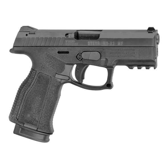 "Steyr Arms M9-A2 9MM Semi-Automatic Pistol, 4"" Barrel, Polymer Frame, Two 17Rd Mag,"
