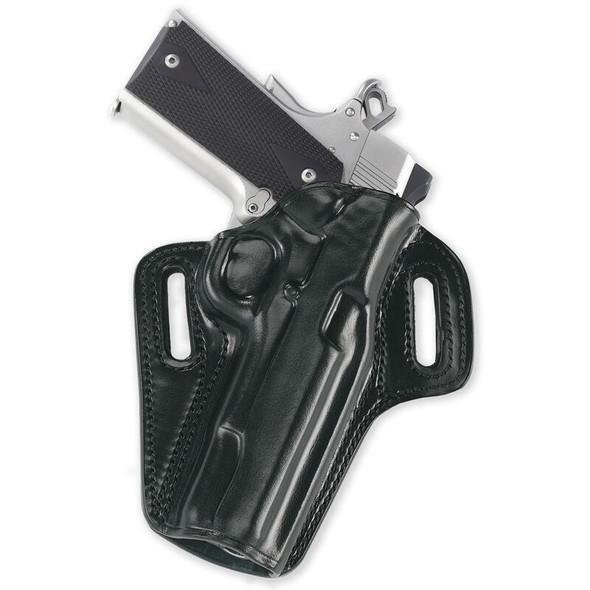 Galco Gunleather Concealable Belt Holster for 1911 5-Inch Colt, Kimber, Para, Springfield (Black, Right-hand)