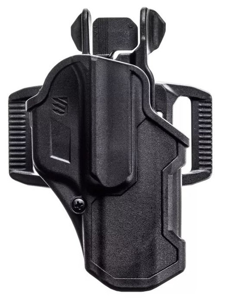 Blackhawk T-Series Holster L2C Glock (RH) 43/43X & Kahr PM9/PM40 - 410768BKR