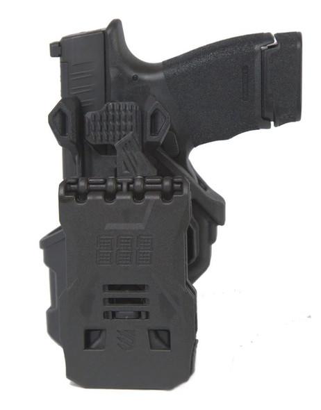 Blackhawk T-Series Holster L2C S&W M&P 9/40/45 & Taurus 24/7 Pro RH - 410757BKR