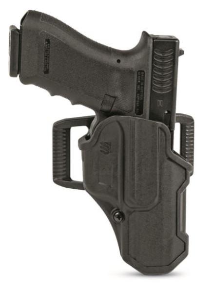 Blackhawk T-Series Holster L2C LB Sig 7/8 & P320/P250/M17/M18 (RH) - 410261BKR