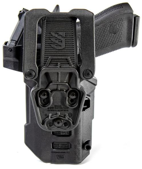 Blackhawk T-Series Holster L2D LB/RDS LH Sig P320/P250/M17/M18 & TLR - 44NB61BKL