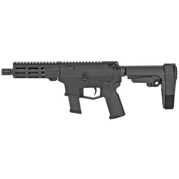 """Angstadt Arms AAUDP09B06 UDP-9 9mm Luger 6"""" 15+1 Matte Black SBA3 Adjustable Arm Brace"""