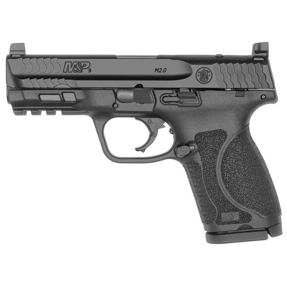 "Smith & Wesson, M&P 2.0, Optics Ready, 9MM, 4"" Barrel, Black Finish"