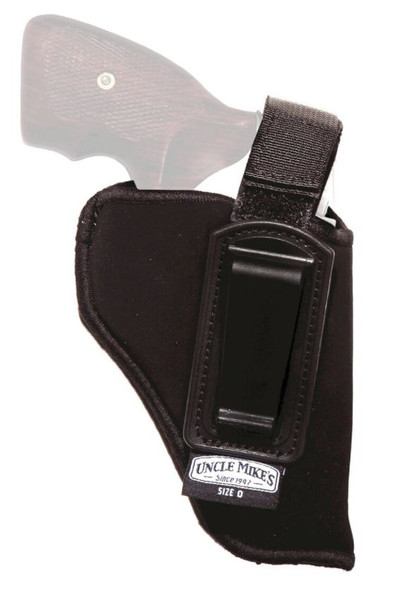 """Uncle Mike's Inside-the-Pant Holster w/ 2-3"""" Ret Strap (Size 0 / LH) - 76002"""