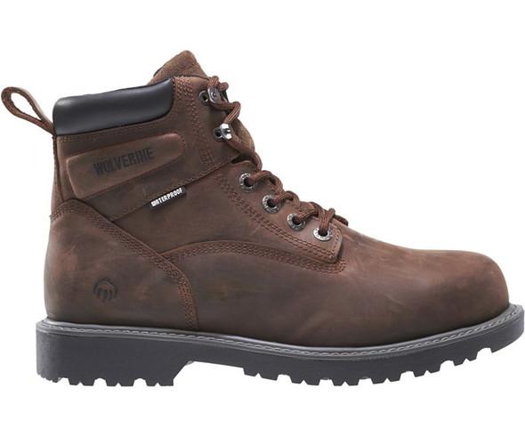 Wolverine Men's Floorhand 6 Inch WP Soft Toe Work Shoe