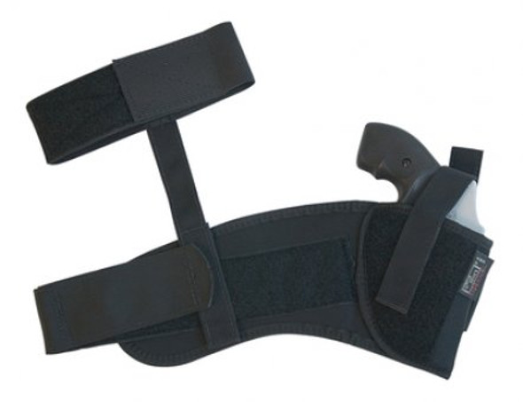 """Uncle Mike's Ankle Holster M/L 3-1/4"""" to 3-3/4"""" Barrel (Size 16 / RH) - 88161"""