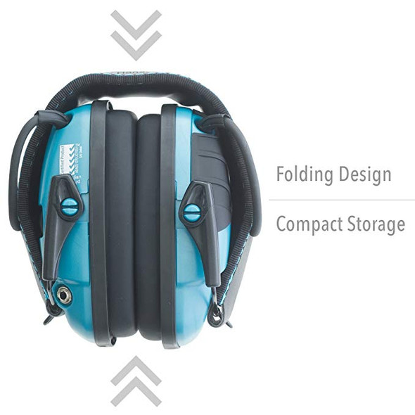 Howard Leight Impact Sport Sound Amplification Electronic Earmuff - R-02521