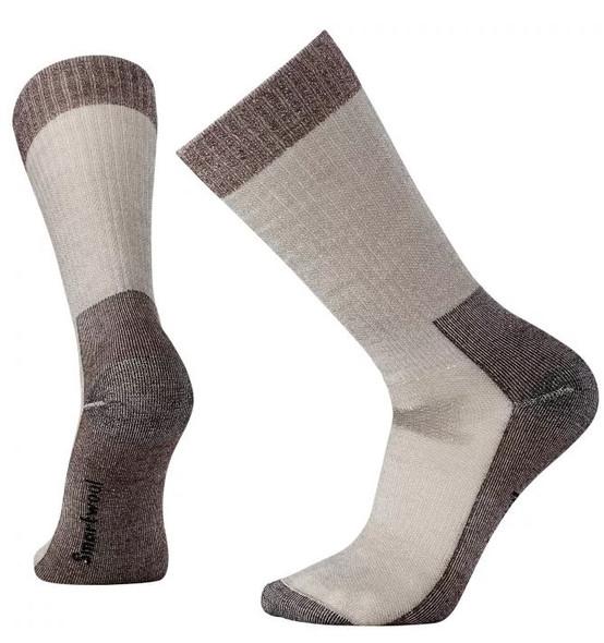 Smartwool Hunt Medium Crew Socks, Taupe, M
