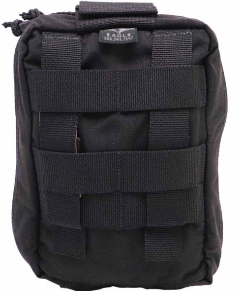 Eagle Industries Quick Pull Medical IFAK Pouch, Black - R-MEDP-QP-TS-5BK