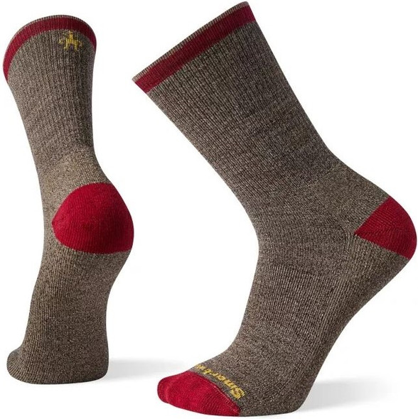 Smartwool Men's Hike Light Hiker Street Crew Socks, XL, Fossil - SW004066880XL