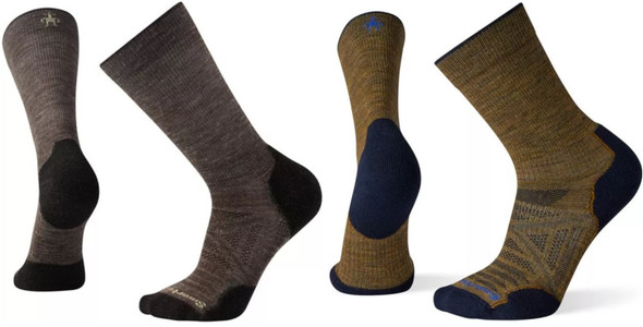 Smartwool Men's PhD Outdoor Light Hiking Crew Socks - SW001069
