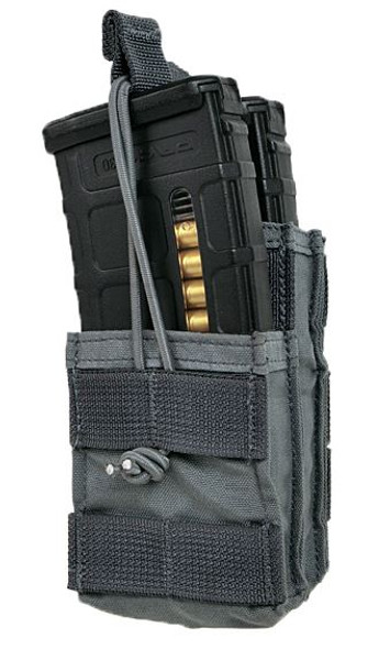 Eagle Industries Double M4 Stair Stepped Magazine Pouch, Gray