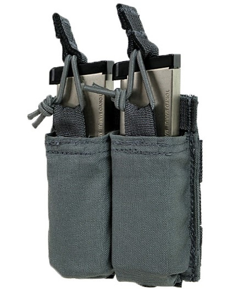 Eagle Industries FB Style Double S45/220 Magazine Pouch Gray - R-MP2-S45/220-FB1