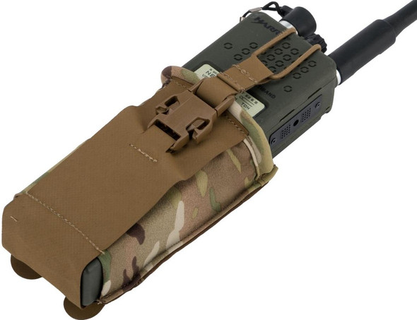 Eagle Industries HTS MBITR Radio Pouch, Multicam
