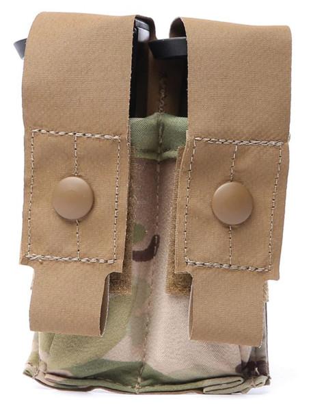 Eagle Industries HTS Double M9 Magazine Pouch, Multicam