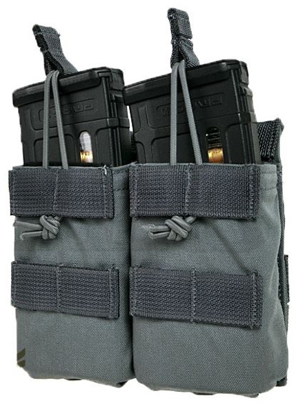 Eagle Industries FB Style Double M4 Magazine Pouch, Gray
