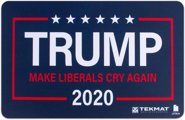 "TekMat Trump Make Liberals Cry Again 11""x17"" Gun Cleaning Mat TEK-17-TRUMP-LIBS"