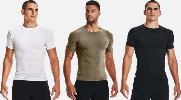 Under Armour Men's UA Tactical HeatGear Compression T-Shirt - 1216007