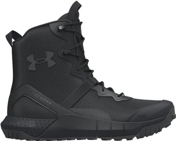 Under Armour Micro G Valsetz Men's Tactical Boots, Black/Pitch Gray - 3023743