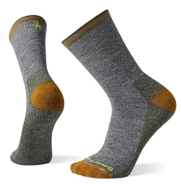 Smartwool Hike Light Hiker Street Crew Socks, Military Olive, XL