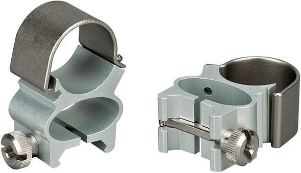 Weaver See-Thru Detachable Rings, 1-Inch, Silver