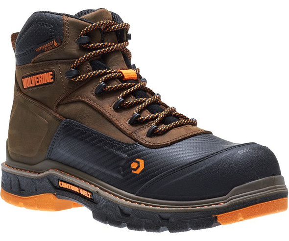 Wolverine Men's Overpass 6 Inch Composite Toe WP Work Boot