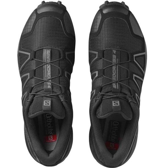 Salomon Speedcross 4 Wide Forces Men's Tactical Shoe, Black - L40143600