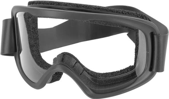 Oakley O-Frame 2.0 Pro Black Goggles w/ Clear Lens - OO7123-01