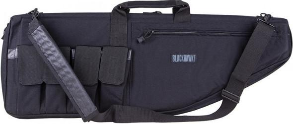 "Blackhawk 37"" Rifle Case, Textured Black - 64RC37BK"