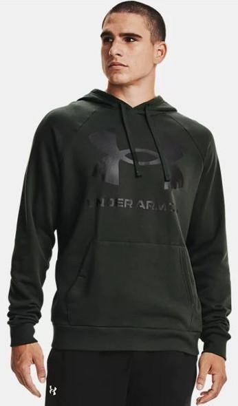 Under Armour Men's UA Rival Fleece Big Logo Hoodie Sweatshirt - 1357093