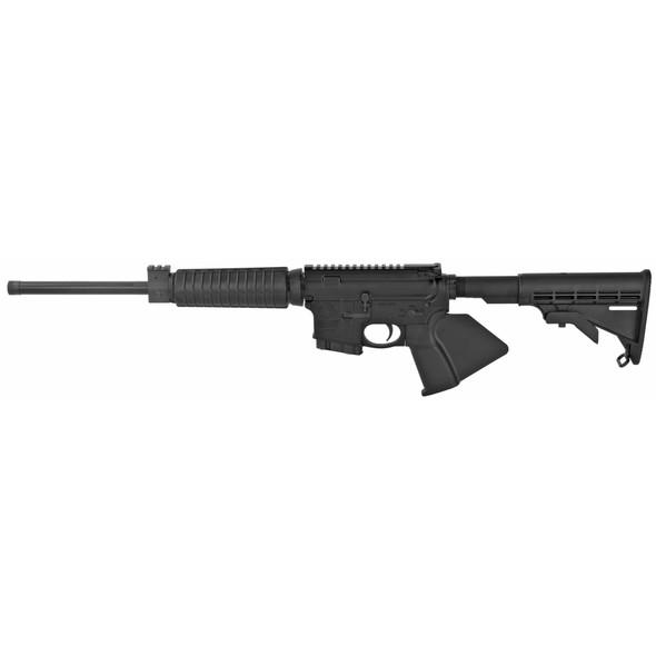 """Smith & Wesson, M&P 15, Sport II, Optics Ready, Semi-automatic, AR, 556NATO, 16"""" Barrel, Black, Fixed Stock, 10Rd, Flattop, CA Compliante Blade"""