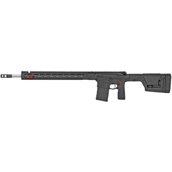 "Savage, MSR 10 Precision, Semi-automatic Rifle, 6.5 Creedmoor, 22.5"" Stainless Heavy Barrel, Adjustable Gas Block, Black, Magpul PRS Stock, 20Rd, Right Hand"