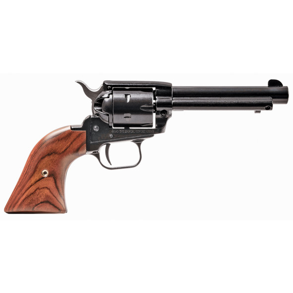 """Heritage, Rough Rider, Single Action Revolver, 22LR, 4.75"""" Barrel, Alloy Frame, Blue Finish, Cocobolo Grips, Fixed Sights, 6Rd, Long Rifle Cylinder Only"""