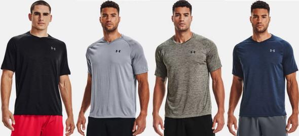 Under Armour Men's UA Tech 2.0 V-Neck Short Sleeve Athletic T-Shirt - 1328190