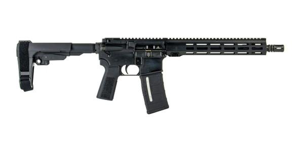 "IWI Zion-15 12.5"" 5.56x45mm SBA3 AR-15 Pistol, Black - Z15TAC12"