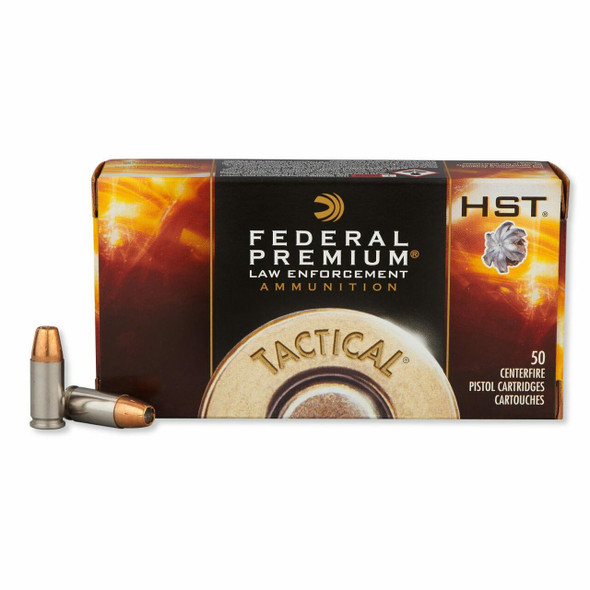 Federal Premium 9MM 124GR +P Hollow Point (100 Rounds)