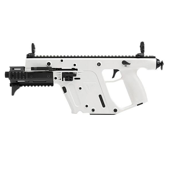 Kriss Vector SDP Enhanced 9MM Semi-Auto Pistol, 6.5″ Threaded Barrel, 17-RD, Alpine White Finish