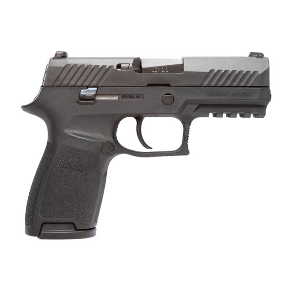 SIG SAUER P320 Black Nitron 3.9in 357 SIG 13rd Pistol (320C-357-BSS)