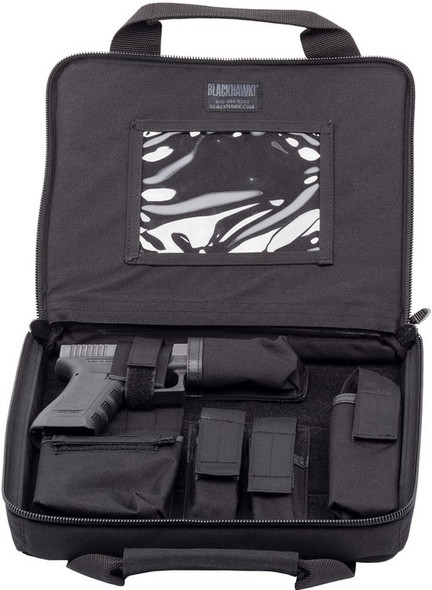 Blackhawk Discreet Socom Soft Black Pistol Case - 66SS00BK