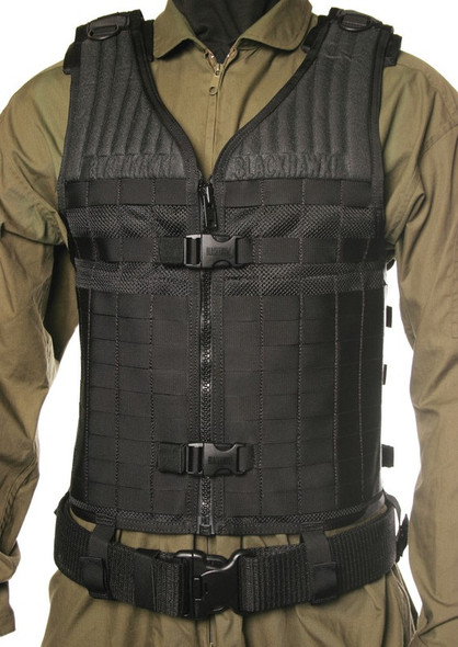 Blackhawk STRIKE Gen-4 Molle System Elite Black Vest - 37CL66BK