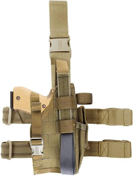 Blackhawk Omega VI Elite Dropleg Holster for Sig 228 & Glock RH - 40QD02OD