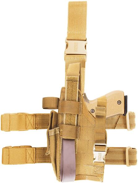 Blackhawk Omega VI Elite Dropleg Holster for Sig 228 & Glock LH - 40QD02DE