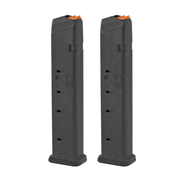 Magpul Industries PMAG For Glock 17/19 9MM 27Rd Magazine Fits Glock 17 (2 Pack)