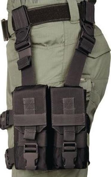 Blackhawk M16 Y Thigh Rig Magazine Ammo Pouch - 561604BK