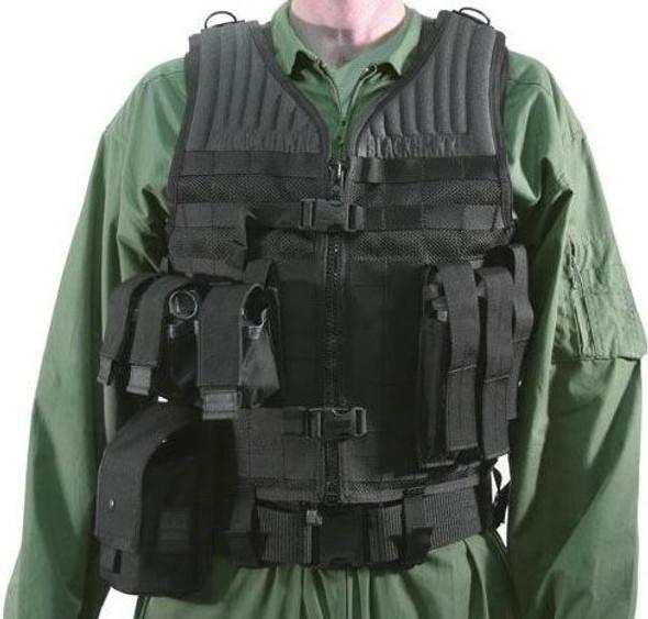 Blackhawk STRIKE Gen-4 Molle System Omega Vest w/ Durable Nylon Mesh - 37CL36BK